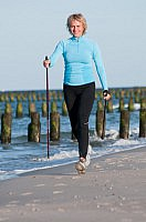 Nordic Walking - Power Walking an der Ostsee
