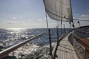 Segeln auf der Ostsee vor Fehmarn
